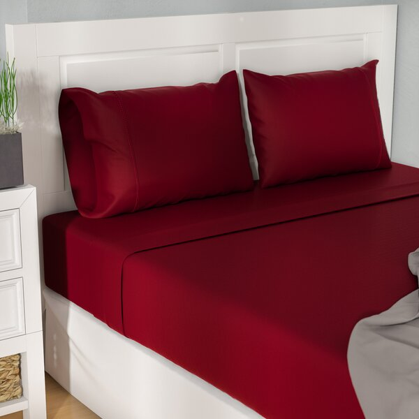 Cullen 400 Thread Count 100% Premium Cotton Sheet Set by The Twillery Co.